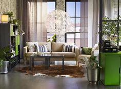 IKEA PS MASKROS visilica ima zanimljiv dizajn i zbog toga ostavlja ukrasne uzorke na stropu i zidu. www.IKEA.hr/PS_MASKROS_visilica