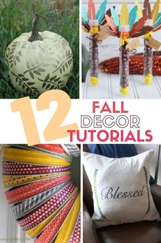 Get crafty for Thanksgiving with these fun Thankful Crafts. Easy DIY craft tutorial ideas that are fun to make and will look beautiful in your home. #thecraftyblogstalker #diythanksgiving #fallcrafts #autumncrafts #falldecor Seasonal Decor, Fall Decor, Family Thanksgiving, Autumn Crafts, Easy Diy Crafts, Fall Diy, Craft Tutorials, Fun Projects, Diy Home Decor