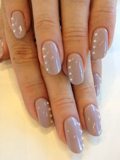 Bio Sculpture Gel colour: #153 - Marilyn with pearl accents