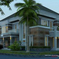 desain rumah minimalis-kavling sudut/hook 2 lantai