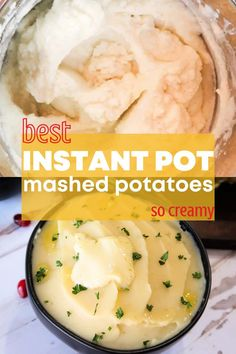Our recipe for Easy Mashed Potatoes in Instant Pot results in buttery, creamy, and delicious potatoes.