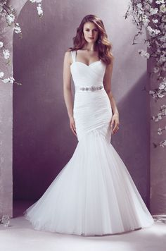 Find this gown at Something Blue Bridal  Schererville, IN #WeddingGown #Belt #SomethingBlue