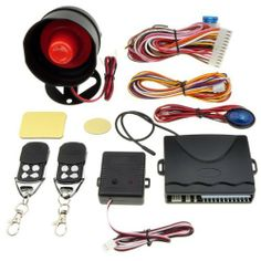 Car Alarm Protection System Multi-level Security Arming + 2 Remote Control by Neewer. $19.84. *Functions include: Arm/disarm Door trigger Trunk release Acc trigger Reminder for locking door Auto arm Car finder Anti-hijacking Engine locking Emergency override LED indicator High sensitivity of shock sensor output Code learning Auto central locking Car status memory Note: This product is just suitable for electric lock and not suitable for air lock.  package content:...