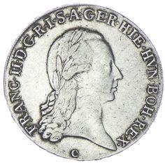 1/2 Kronentaler 1797 C RDR Haus Österreich Franz II. 1792 - 1806