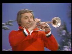 """Sleigh Ride"" - Doc Severinsen and the ORU World Action Singers - from ""Oral Roberts Christmas"" special, Doc Severinsen, Trumpet Players, Any Music, Popular Music, Singers, Jazz, Action, World, Christmas"