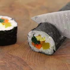 How To Make Gimbap: Korean Seaweed and Rice Rolls — Cooking Lessons from The Kitchn | The Kitchn