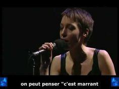 Jeanne Cherhal - « Quand on est très amoureux » + sous-titres