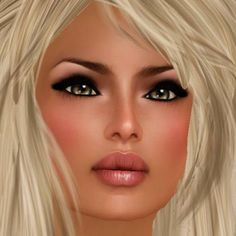 Portrait Second Life by Kittie Lekach-ÅŊĞ乇Ĺ°•