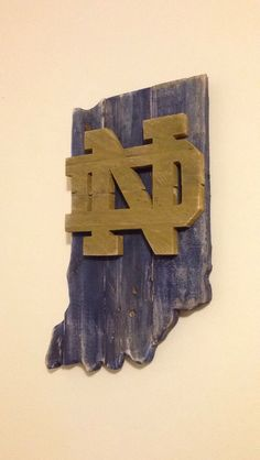 Pallet Notre Dame Fighting Irish Rustic Decor | Indiana | College Signs | Indiana Pallet by R2KPallet on Etsy
