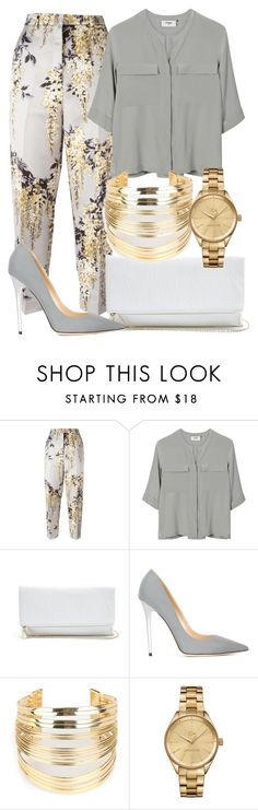 """""""Untitled #218"""" by zchristine ❤ liked on Polyvore featuring Rochas, PYRUS, GUESS, Jimmy Choo, WithChic and Lacoste"""