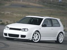 I didnt think white looked good on MK4's.... until now.