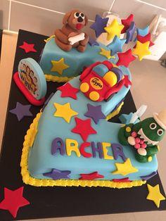 # 2 Wiggles cake