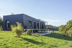 A Contemporary Container Home from Saint-Bresson, France