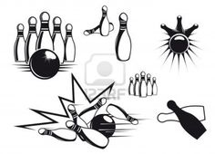 Bowling tattoo ideas