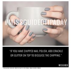 #MissguidedTipADay