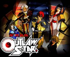 Outlaw Star is my other absolute favorite anime Sci Fi Anime, Anime Nerd, Outlaw Star, Rap Beats, Ghost In The Shell, Manga Games, Awesome Anime, Sci Fi Fantasy, Anime Shows