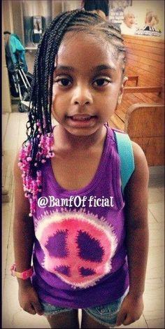 Black kids hairstyles girls