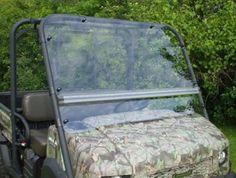 UTV Headquarters - Kawasaki Mule 4010 Flip Up windshield
