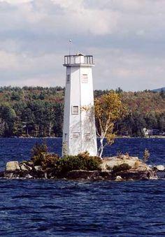 Loon Island Lighthouse, New Hampshire