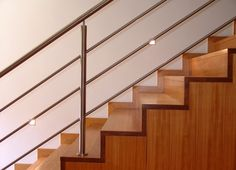 Sleek Metal Staircase Design