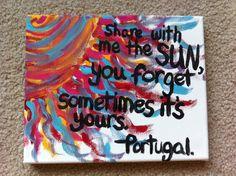 Portugal the man lyrics, share with me the sun