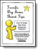 Terrific Dry Erase Board Tips - Turtle Wax to clean...must try.