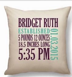 Thirty One Gifts Personalized Pillow Thirty One
