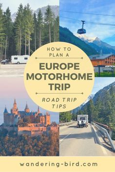 Looking for an awesome guide to planning your motorhome road trip to Europe? This helped me so much! If you are planning a road trip to Europe in a motorhome or camper, this guide had everything you need. Road Trip Packing, Road Trip Europe, Road Trip Destinations, Road Trip Essentials, Road Trip Hacks, Europe Travel Tips, Camping Hacks, Road Trips, Europe Europe