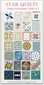 Star Quilts (part - Quilt Inspiration: Free pattern day! Star Quilts (part - Christmas Quilt Patterns, Star Quilt Patterns, Pattern Blocks, Sewing Patterns Free, Free Pattern, Pattern Ideas, Patchwork Patterns, Patchwork Designs, Bag Patterns