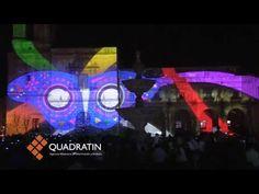 Morelianos disfrutaron del video mapping en Plaza Valladolid
