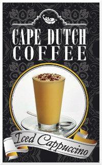 Cape Dutch coffee Iced Cappuccino #icedcappuccino Iced Cappuccino, Cape Dutch, Tea, Coffee, Tableware, Dinnerware, Kaffee, Tablewares, Place Settings