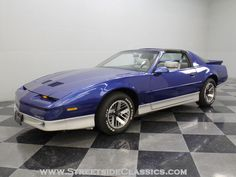 1987 Pontiac Trans Am. My first car after divorce.  I loved this car.  Mine had better wheels