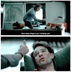 I was actually crying watching this but also laughing because you know, Foggy being Foggy and caring about Matt but also being totally pissed which is understandable and Matt understanding how much he let Foggy down...