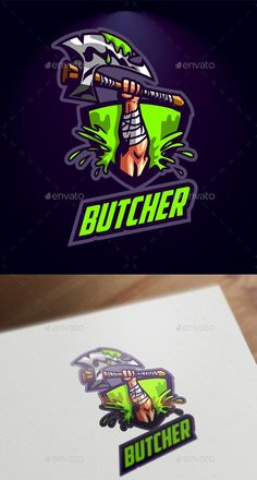 Buy Esport Axe Logo by Suhandi on GraphicRiver. A Resfreshing Logo Design Perfect for your sports/esports team. Everything is editable, scalable and ready to print. Web Design, Graphic Design, Layout Design, Typography Logo, Logo Branding, Branding Design, Axe Logo, Vector Logos, Game Logo Design