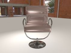 Chair with nurbs Technic 3 Barber Chair, Art 3d, Furniture, Home Decor, 3d Craft, Homemade Home Decor, Home Furnishings, Decoration Home, Arredamento