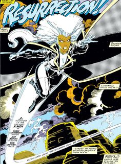 Storm by Art Adams one of the first comic art pieces I fell in love with!