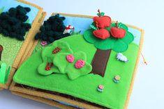 Handmade by mom: Очередная готовая развивающая книжечка, на это раз для девочки Катюши!!! Dolls House Figures, Handmade Books, Just Kidding, Bookbinding, Making Out, Book Art, Blog, Projects, Kids