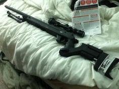 Mauser Sr22 Pro Tactical Sniper Rifle