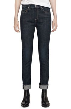 The Dre Slim Boyfriend Jeans,                          Main,                          color, Beverly