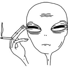 aesthetic alien drawings indie trippy weird aliens smoke clothes polyvore shoes