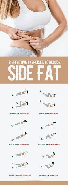 8 Effective Exercises To Reduce Side Fat of Waist - All Just You ., 8 Effective Exercises To Reduce Side Fat of Waist - Weltraum Just You . 8 Effective Exercises To Reduce Side Fat of Waist - Weltraum . Fitness Workouts, Yoga Fitness, Health Fitness, Ab Workouts, Core Exercises, Abdominal Exercises, Workout Exercises, Stomach Exercises, Yoga Workouts