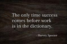 Advokaten Harvey Specter vet vad han talar om. Vi på Sawyer Street önskar alla en grym arbetsvecka - Kör hårt! - www.sawyerstreet.se - #sawyerstreetgoods #advokat #kostym #succe #framgång #arbete #fokuserad #professionell #målmedveten #motiverad #business #oslagbar #accessoarer #herraccessoarer #herrmode #herrstil #gentleman
