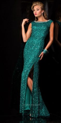 SCALA - 48410 in Teal | CoutureCandy