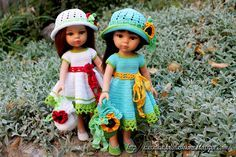 PDF Doll Clothes Crochet Pattern Birch di KasatkaDollsFashions