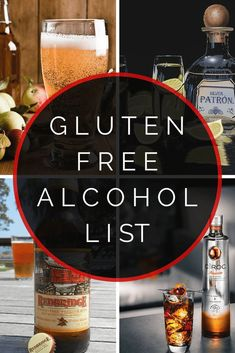 Finding a safe and delicious gluten free alcoholic beverage has become growingly difficult. From the ongoing debate about distilled alcohol being gluten free or not to the accidental mix ups by the bartender, it's a challenge to find a gluten free alcoholic beverage that works for you and your diet. In this gluten free alcohol listing, you'll find all the beers, hard ciders, vodkas, rums, tequilas, and other hard liquors that are gluten free. Tequila, Whisky, Sin Gluten, Rum, Gluten Free Alcohol, Nutrition Program, Healthy Nutrition, Healthy Tips, Healthy Eating