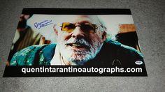 My Quentin Tarantino Autograph Collection: Bruce Dern AKA Old Man Carrucan of Django Unchaine...