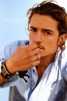 Orlando Bloom: because who else can make females fall in love with both a pirate AND an elf? ;)