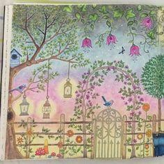 Instagram media ludmila_prado - #jardimsecreto #jardimcolorido #jardimsecretotop #jardimsecretolove #jardimsecretolovers #jardimsecretoinspire #terapianojardim