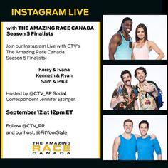 Amazing Race, Social Media, Seasons, Instagram, Seasons Of The Year, Social Networks