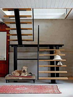 Escaleras Rusticas De Interior Perfect Escaleras Madera Clasica - Escaleras-rusticas-de-interior